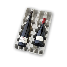 1.5 Magnum 2 Bottle Pulp Wine Shipper