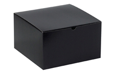 10x10x6 Black Gloss Gift Boxes