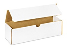 11x5x5 White Die Cut Mailer Boxes