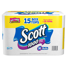 SCOTT� Toilet Tissue 36 rolls