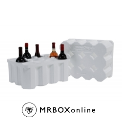 12 Bottle Foam Wine Shippers