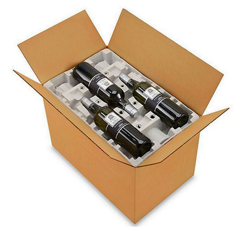 12 Bottle Pulp Wine Shipper