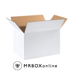 18x12x12 White Corrugated Boxes