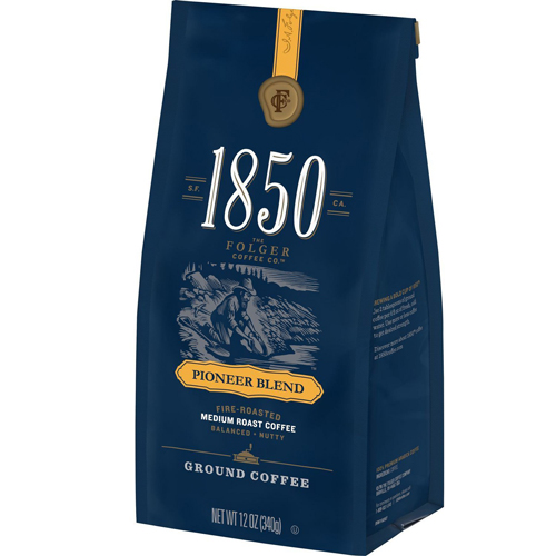 1850 Pioneer Blend Ground Coffee with an order of $525.00