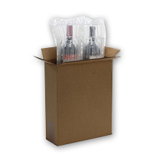 2 Bottle Inflatable Bottle Wine Kit
