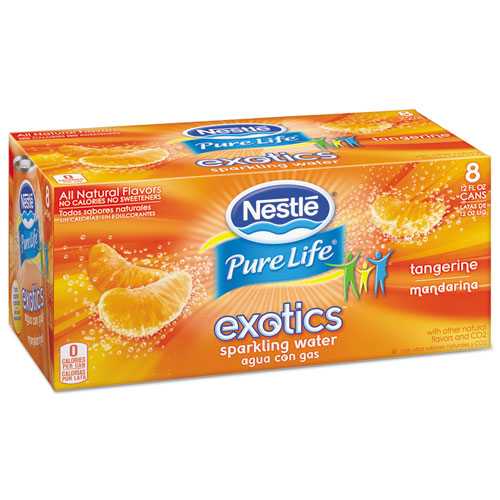 Pure Life Exotics Sparkling Water, Tangerine
