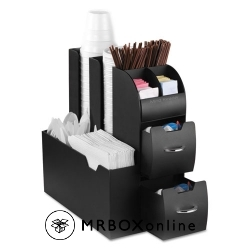 Mind Reader Coffee Condiment Caddy Organizer