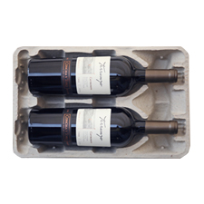 2 Bottle Pulp Wine Shippers