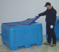 34 Cubic foot Insulated Chest Containers