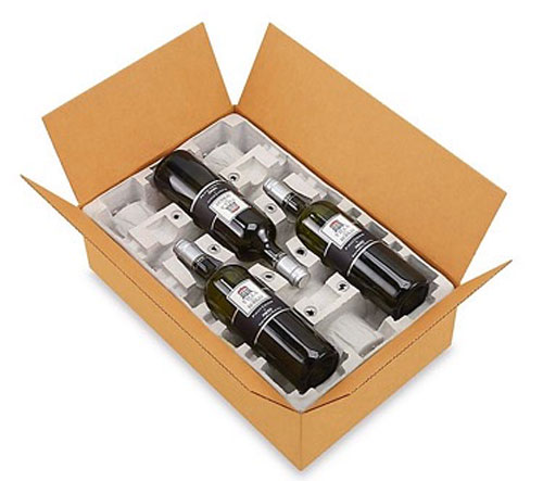 3 Bottle Pulp Wine Shipper