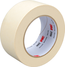 3M 2x60yds Masking Tape Sold by the roll