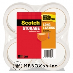3M Scotch Super Clear Packaging Tapes