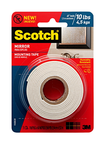 3M Scotch Mirror Mounting Tape
