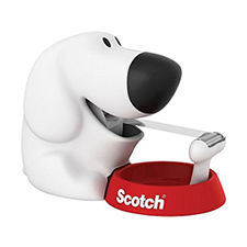 3M Scotch Dog Tape Dispenser with Scotch Tape