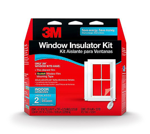 3M Indoor Window Insulator Kit - Patio Door