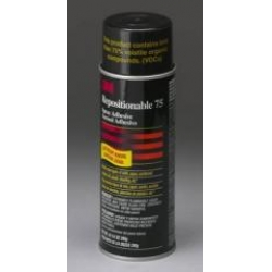 3M Repositionable 75 Spray Adhesive 16oz