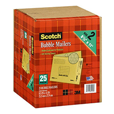 3M Scotch Bubble Mailer 8.5x11.5