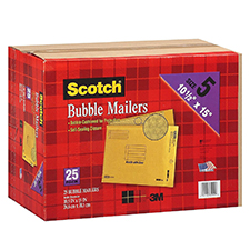 3M Scotch Bubble Mailers 10.5x15.5