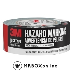 3M Aisle Marking Tape Red-White