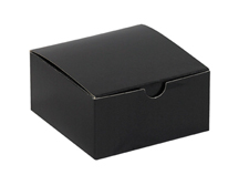4x4x2 Black Gloss Gift Boxes
