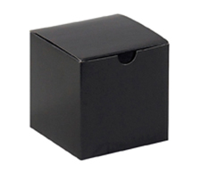 6x6x4 Black Gloss Gift Boxes