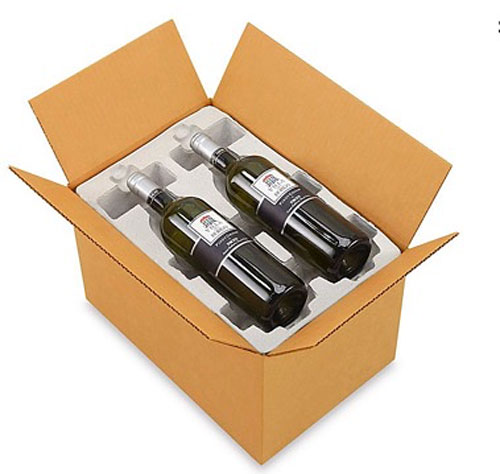 4 Bottle Pulp Wine Shipper