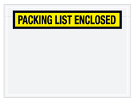 "6.75""x5"" Packing List Enclosed Envelope"