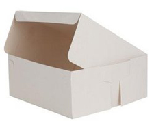 "7x7x3"" Bakery Boxes"