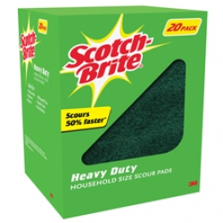 3M Scotch-Brite Heavy Duty Scouring Pads
