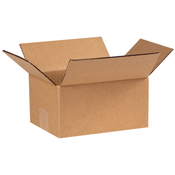 8x6x4 Brown Cardboard Box