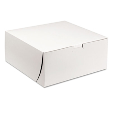 "9x9x4"" Cake Bakery Box"