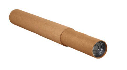 4.75x72 to 144 Kraft Adjustable Mailing Tubes