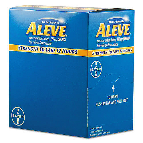 Aleve Tablets Pain Reliever
