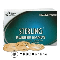 117B 1LB Box Rubberbands