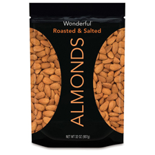 Roasted Almonds with a $625 order