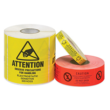 Anti Static Labels