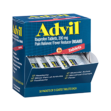 Advil Tablets Pain Reliever