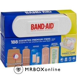 Band Aid 188 Assorted with Neosporin