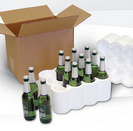 24 Bottle Styrofoam Beer Shipper
