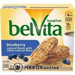 Belvita Blueberry Biscuits with a $225 order
