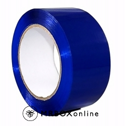 2x110yds Blue Plastic Box Tape
