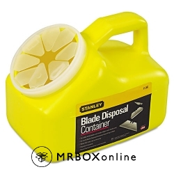 Stanley Blade Disposal Container