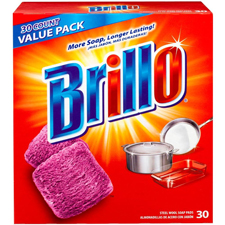 Brillo Steel Wool Soap Pads 30 count