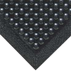 30x30 Black Bubble Mat
