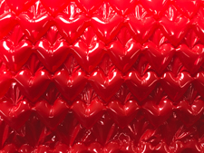 Bubble Wrap Expressions Red Hearts