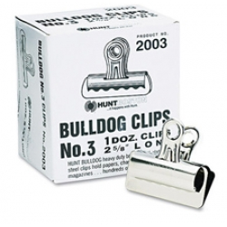 Boston Bulldog Clips