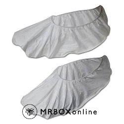 Disposable Shoe Covers White Large