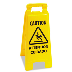 Caution Safety Sign For Wet Floors