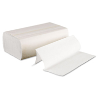 Boardwalk White Multifold Towels