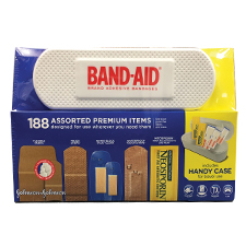 Band Aid Assorted Premium Pack